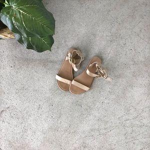 Forever 21 Tan Gladiator Sandals!